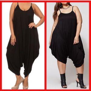 Pants - Cute, Plus Size harem jumper!